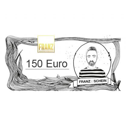 Haarschneider Franz Gutschein 150 Euro