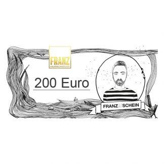 Haarschneider Franz Gutschein 200 Euro